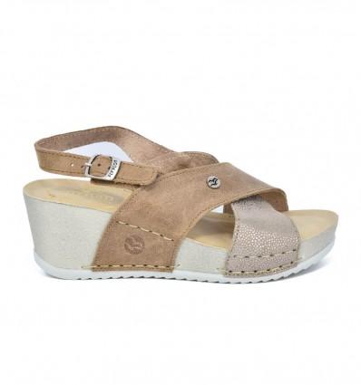 Sandale din piele naturala Fly Flot 116