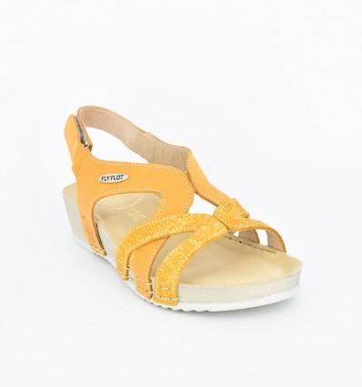Sandale din piele Fly Flot 112
