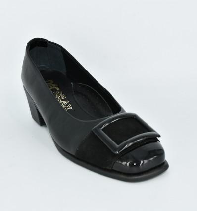 Pantofi cu toc scurt Relax070